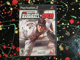 MLB Major League Baseball 2K9 PS2 Playstation 2 Game with case and manual - $12.25
