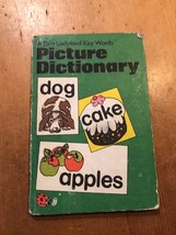 "1982-83 ""FIRST LADYBIRD KEY WORDS PICTURE DICTIONARY"" LADYBIRD BOOK (60p... - $1.29"