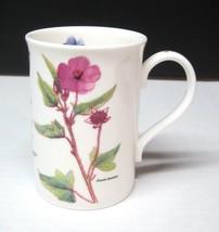 "Royal Grafton Diana Birkett Floral Coffee Mug Cup 4"" England Great Shape - $29.69"