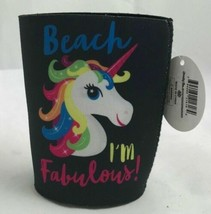 "Premium Insulated Can Cooler, ""Beach Im Fabulous!"" - $11.58"