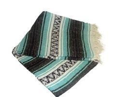#11 Two 2 Falsa Tourist Mexican Travel Blanket Yoga Throw Picnic Snuggle... - ₹2,146.15 INR