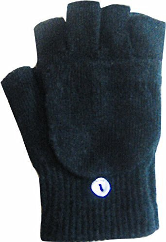 OPT Brand. 48 Pairs Assorted Colors Wholesale Knit Half Finger Gloves with Mitt