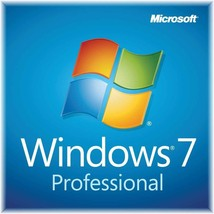 Microsoft Window 7 Pro 32/64 Bit -  Email Delivery - $7.00