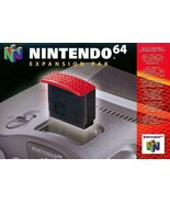 N64 Expansion Pak Nintendo Brand Great Condition Fast Shipping - $89.93