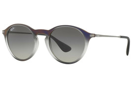 Ray-Ban Sunglasses RB4243L 622311 49MM Violet Shot Grey Grey Gradient - $161.37