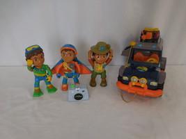 Mattel Viacom Go Diego Go To The Rescue Safari Jeep + Talking figures + ... - $28.02