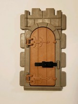 1977 Playmobil 3666 Castle Wall Door with Lock - Medieval Knights Parts ... - $7.95