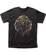 Marvel Comics Livres les Vengeurs Superheros Film Infinity War T-Shirt Noir - $22.16 - $24.28