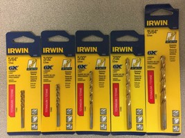 NEW IRWIN High Speed Drill Bit Variety Pack - $11.86