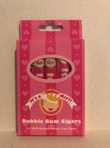 It's a Girl Bubble Gum Cigars 5ct Birth Announcement Gum Cigars NEW - $5.93