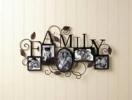 10017860 SHIPS FREE Accent Plus Family Photo Wall Frame - $36.52