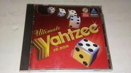 Ultimate Yahtzee CD-ROM (PC, 1996 Hasbro) Complete - $43.98