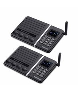 Wireless Intercom System, 2018 Version, Samcom FTAN30A 20-Channel Build-... - $153.12