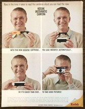 1963 Kodak Instamatic Camera Print Ad New Kodapak Cartridge - $10.75