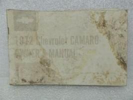 1972 CAMARO Owners Manual 15992 - $18.76