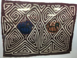 Antique Small Primitive Southwest Native American? Quilt Wall Hanging 2 ... - $89.09