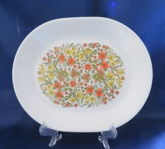 "Corelle ""Indian Summer"" Oval Platter / Serving Tray c. 1977-85 - $13.00"