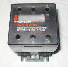 WATLOW POWER CONTROLLER 1PHASE 600VAC 30AMP DB1C-3060-C0S0 - $79.19