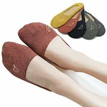 Womens No Show 360° Grip Socks - UNWIREDD Cotton Low Cut Invisible Sneak... - $15.88