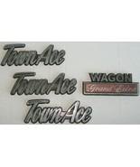 Toyota TownAce Wagon Grand Extra Edition Van Vtg Insignia Emblem Lot Tow... - $134.99