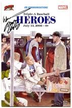 Triple-A Baseball Heroes #2 2008- Marvel Comics RARE Buffalo Bisons Signed!! - $218.25