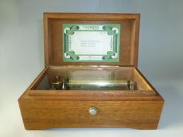SWISS THORENS Pre Reuge Music Box  50 / 3 Play ... - $445.50