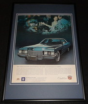 1972 Cadillac Framed 12x18 ORIGINAL Advertisement - $46.39