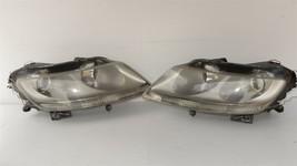 04-06 Volkswagen VW Phaeton Headlight Head Light Lamp w/ Xenon HID Set L&R