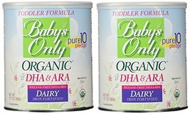Baby's Only Organic Dairy with DHA & ARA Formula, 12.7 Ounce Pack of 2 - $49.74