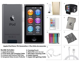 Apple iPod Nano 8th Generation, 16GB- Space Grey + Extra Accessories Package *LA - $229.99