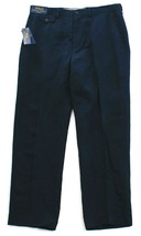 Polo Ralph Lauren Blue Classic Fit Flat Front Linen & Silk Blend Pants Men's NWT - $93.74