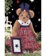 "Bearington Bears ""Patti Patriotic"" 14"" Plush Bear- #161998 - New- 2007 - $39.99"