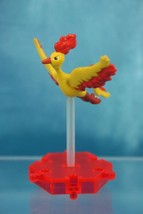 Nintendo Pokemon DP Gashapon Super Encyclopedia Mini Figure P1 Moltres Fire - $15.99