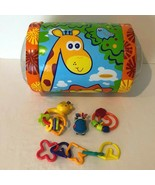 Baby Toys Inflatable Roller Teether Rattle Stroller Toy Developmental Pl... - $14.99
