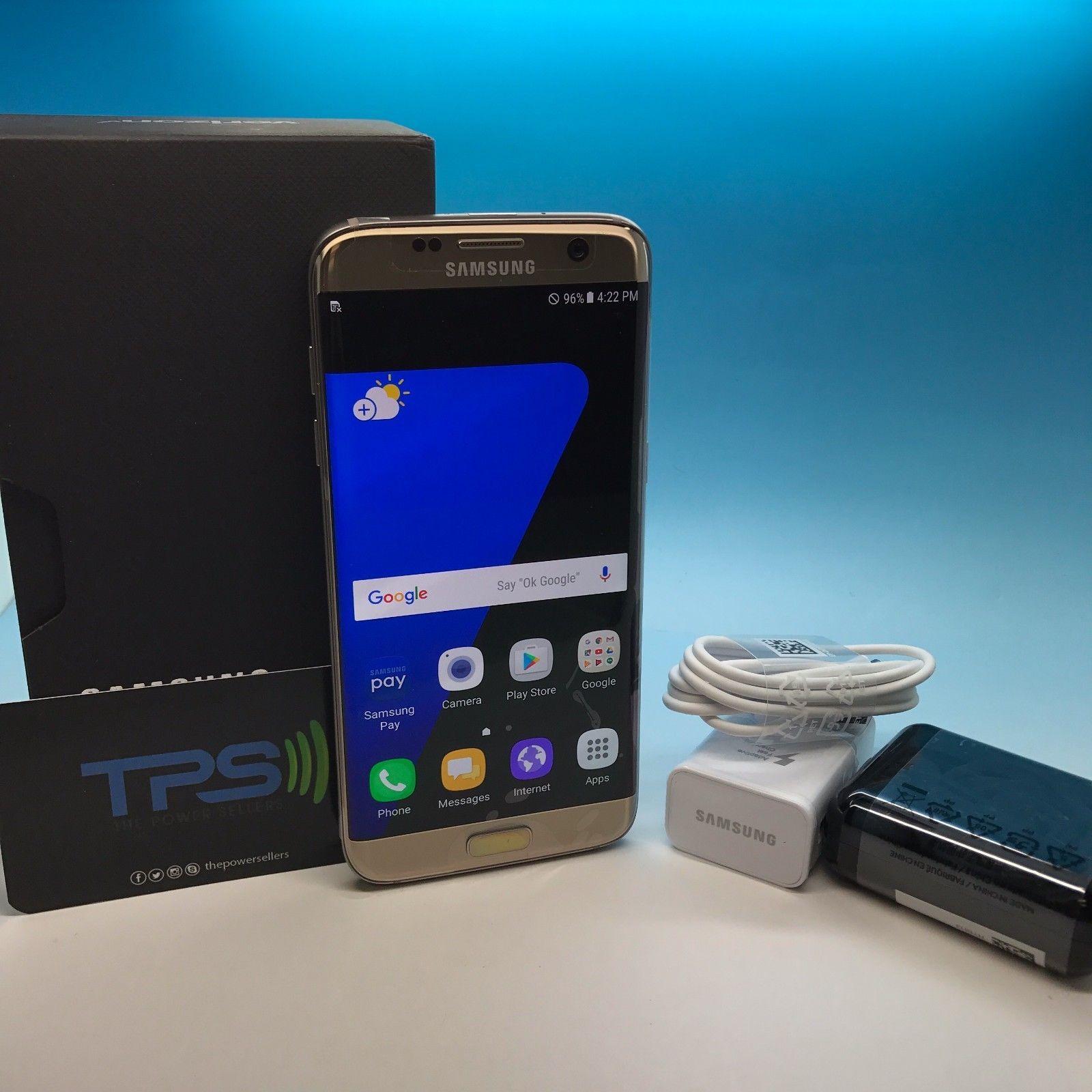 NEW/OPEN BOX UNLOCKED Samsung Galaxy S7 SM-G935V 32GB - Gold GSM Unlocked