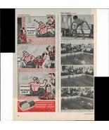 Kleenex Tissues Luxuriously Soft Little Lulu Cartoon 1946 Antique Advert... - $1.50
