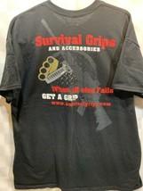 Sopravvivenza Grips E Accessori T-Shirt Taglia XL - $10.85