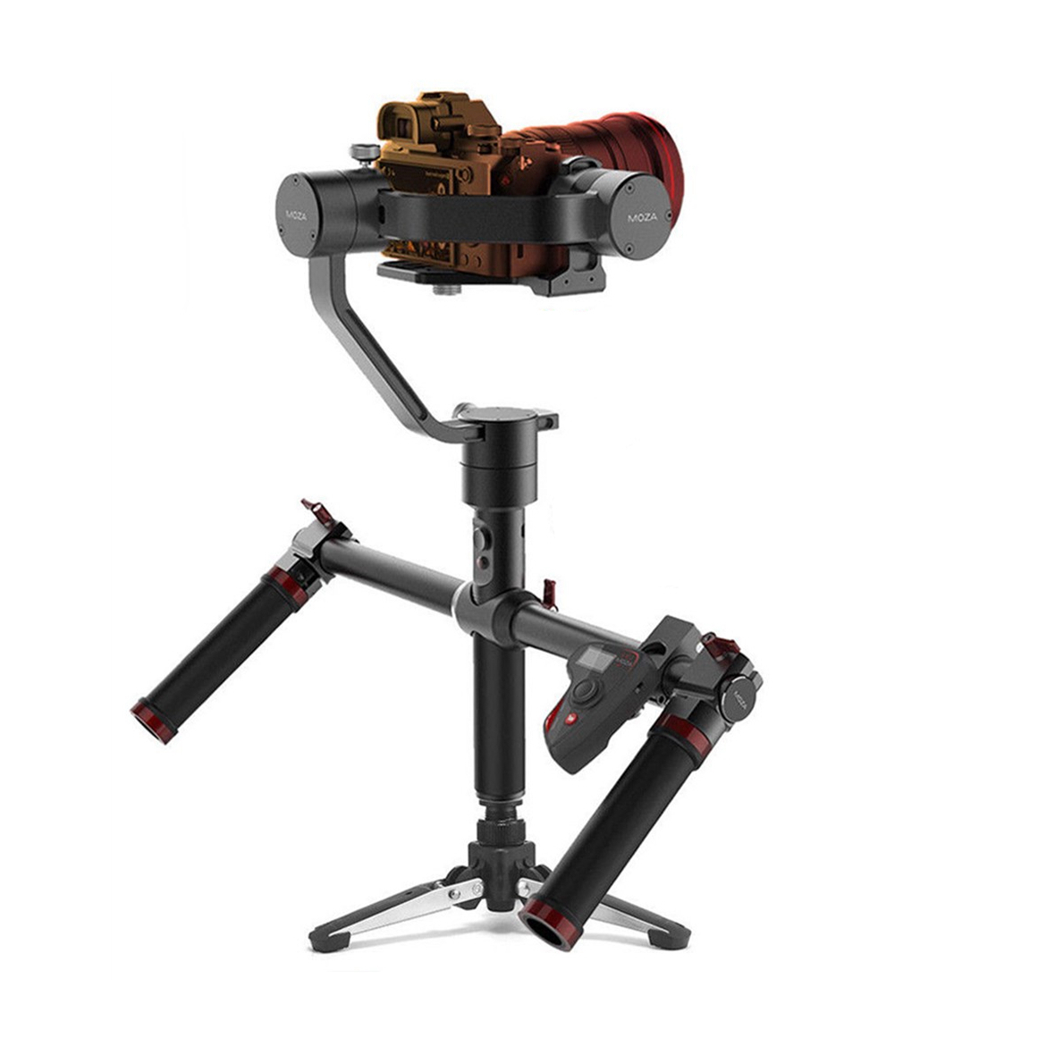 MOZA Air 360 Roll 3 Axis Dual Handheld Gimbal Stabilizer Anti-shake Tripod for C