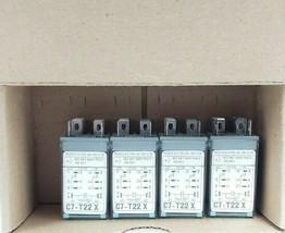 LOT OF 4 NEW RELECO C7-T22X RELAYS C7-T22X/DC 24V, C7T22X image 2