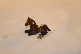 Breyer 1997-99 G1 Bay Pinto Thoroughbred Lying Foal Stablemate Sm - $19.79