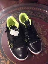Mens Nike Air Jordan Flight Neon Low Tops Size 12 Brand New - $55.74