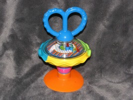 Little Tikes 2005 Baby High Chair Suction Cup Toy Spinner Spinning - $19.79