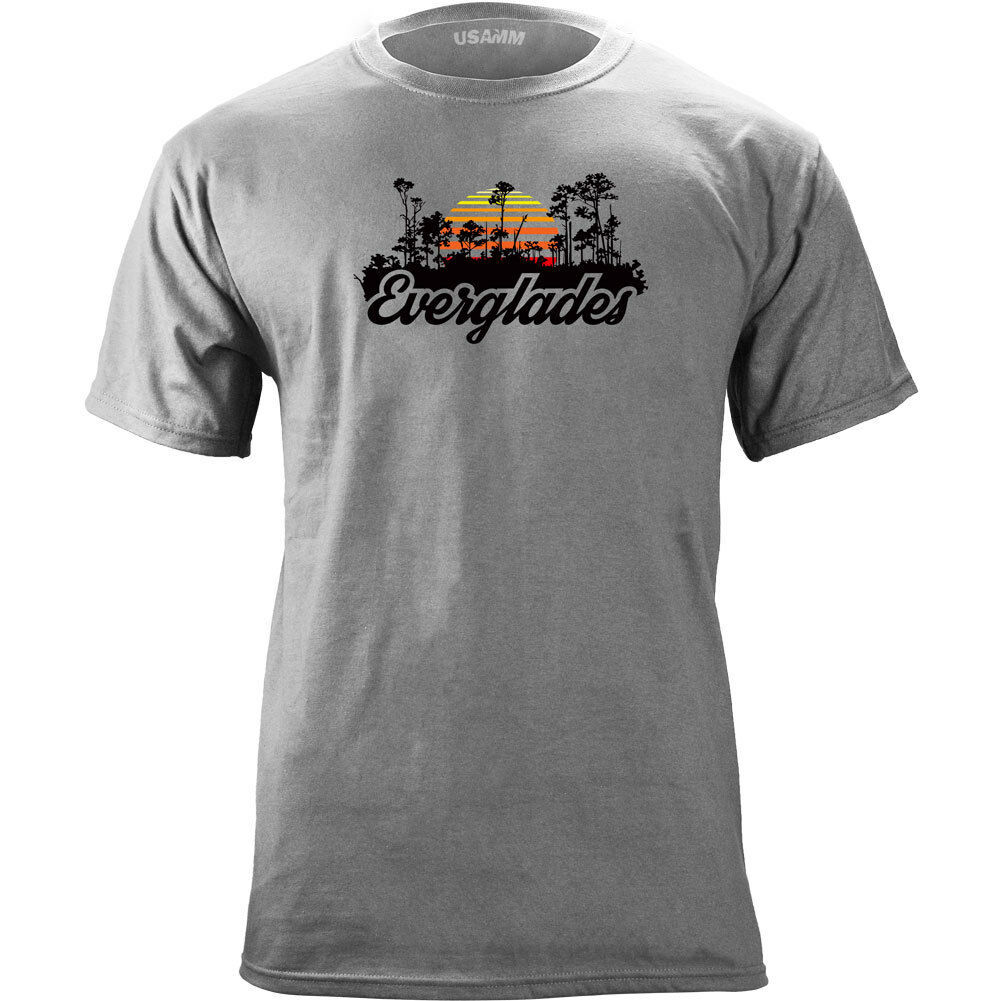 Retro Florida Everglades National Park 80's T-shirt image 1