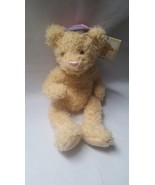 Stuffed Teddy Bear Animal Soft Plush Girl Pink Baseball Hat Mary Meyer J... - $9.97