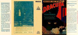 Bram Stoker Dracula Facsimile Dust Pochette pour Grosset & Dunlap 1931 P... - $22.61