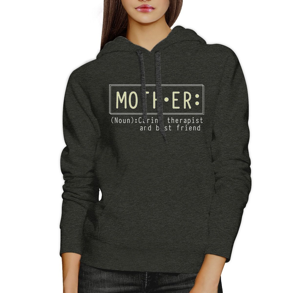 Primary image for Mother Therapist And Friend Dark Gray Unisex Hoodie For Mothers Day