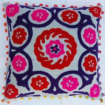 15 Pcs Lot Vintage Traditional Suzanne Cushion Cover Square Sofa Home De... - $122.39