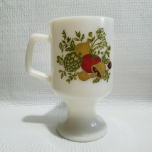 Spice of Life Mug Coffee Tea Cup Milk Glass Footed Pedestal Replacement - $4.92