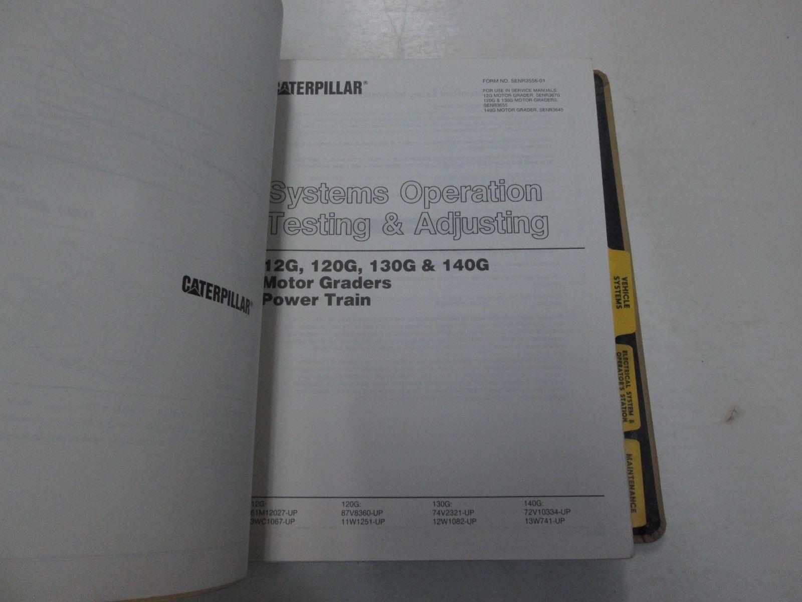 caterpillar 140g motor grader service repair and 50 similar items rh bonanza com 130G Motor Grader Engine Compartment Cat Grader 1980