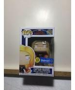 Funko Pop Captain Marvel GITD Walmart Exclusive - $16.36
